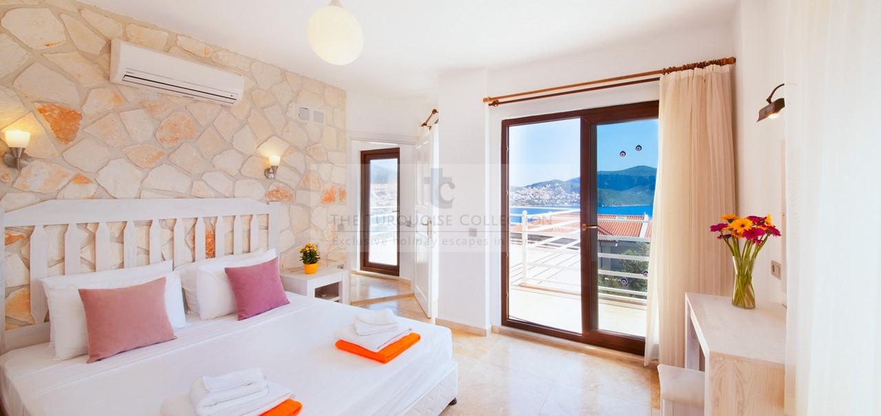 Bedroom With Sea View Balcony