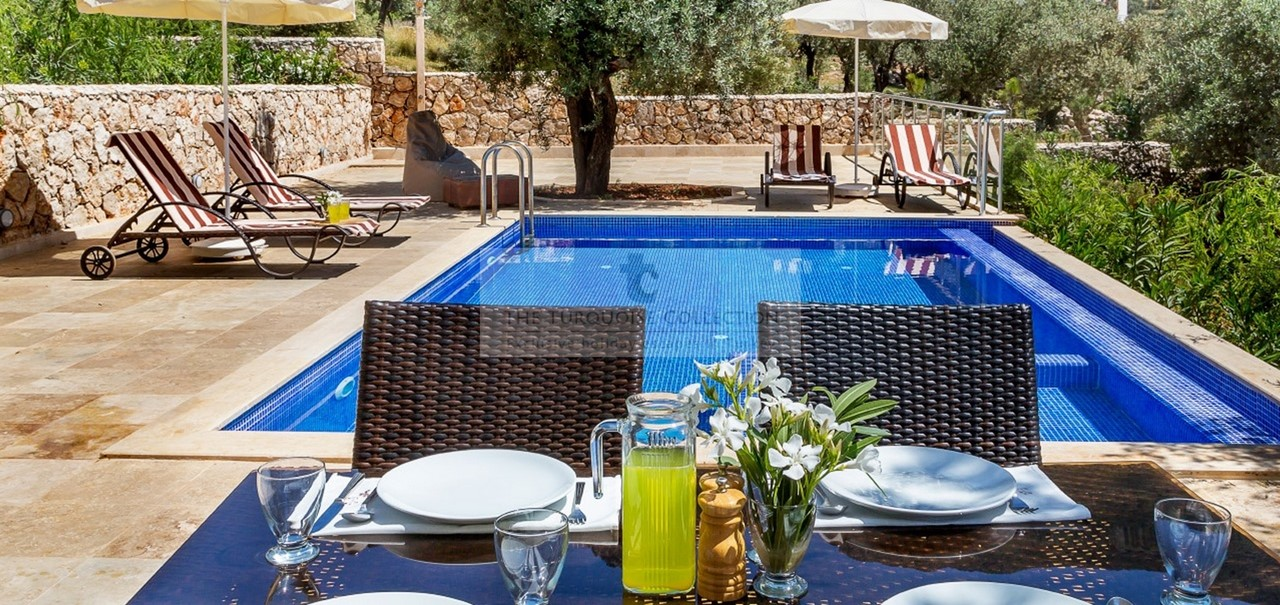 The brand new Elif Apartments in Kalkan