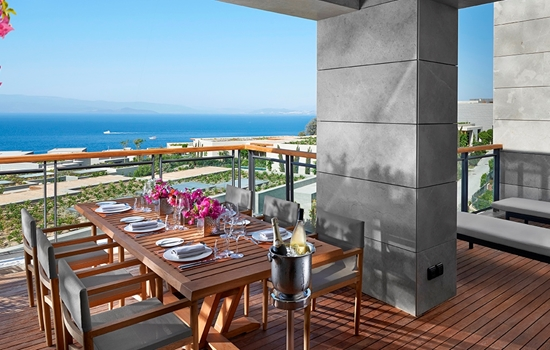 Sea View Apartment, Three Bedroom: Mandarin Oriental
