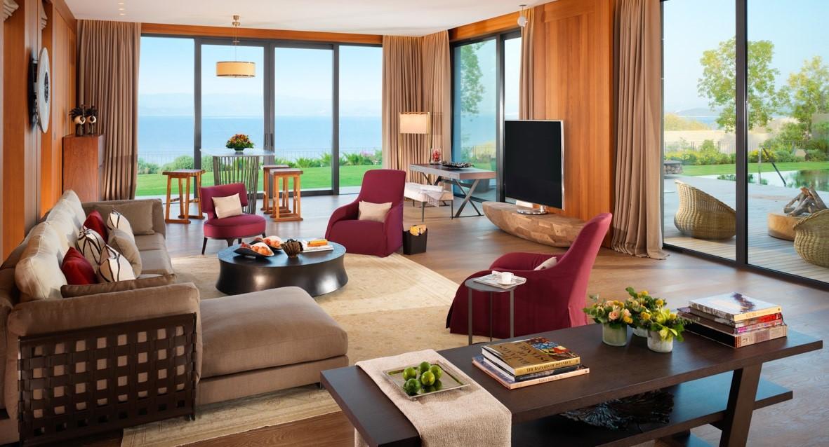 MOBOD Oriental Villa Living Room