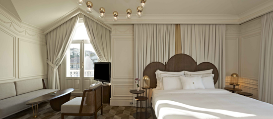 The House Hotel Bosphorus Penthouse Bed Room 2 Web