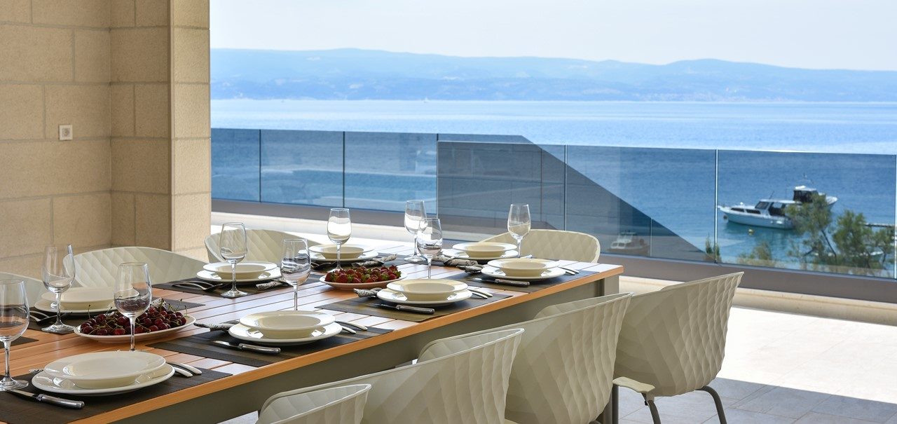 Dining Terrace Sea View