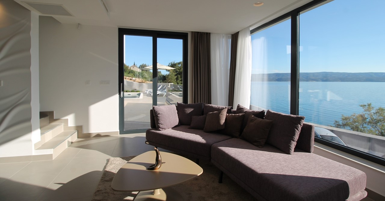 Lounge With Sea And Terrace View