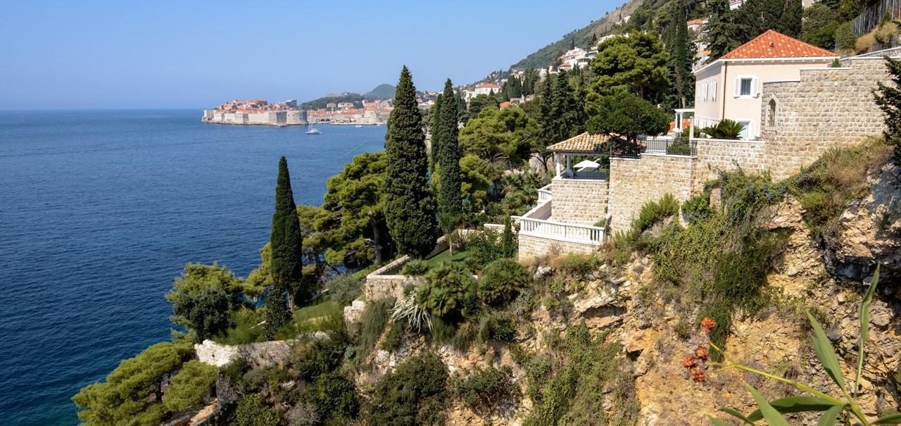 Villa Side View