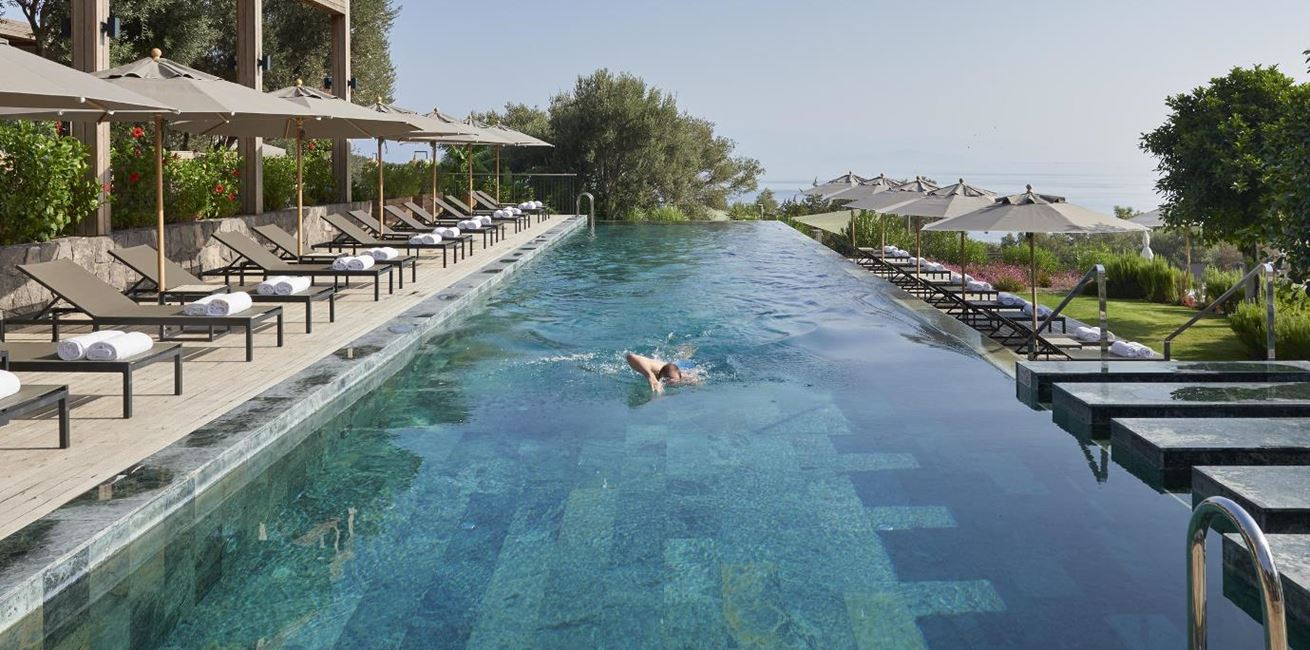 Bodrum Hotel Main Pool Swimming 01