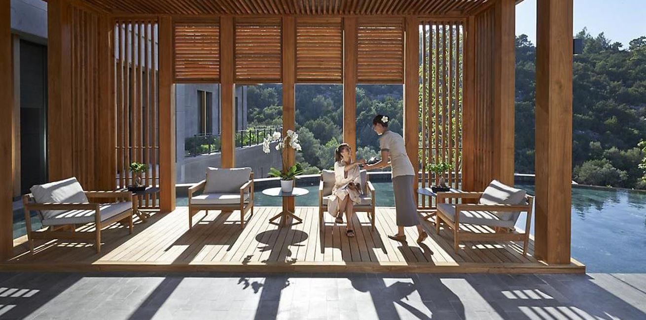 Bodrum Luxury Spa Tea Lounge 03