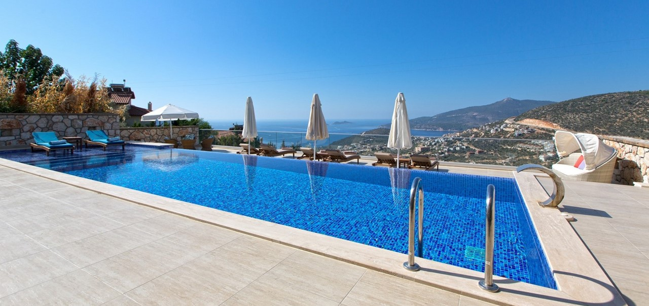 Villa Topcu In Kalkan For Holiday Rental The Turquoise