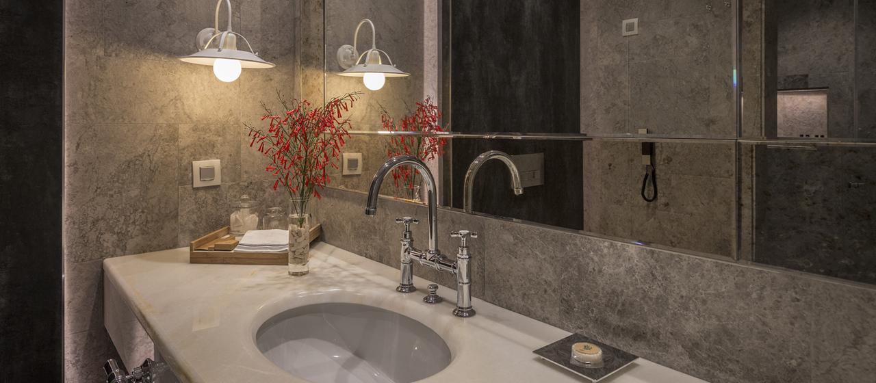 D Resort Gocek Attic Room Bathroom