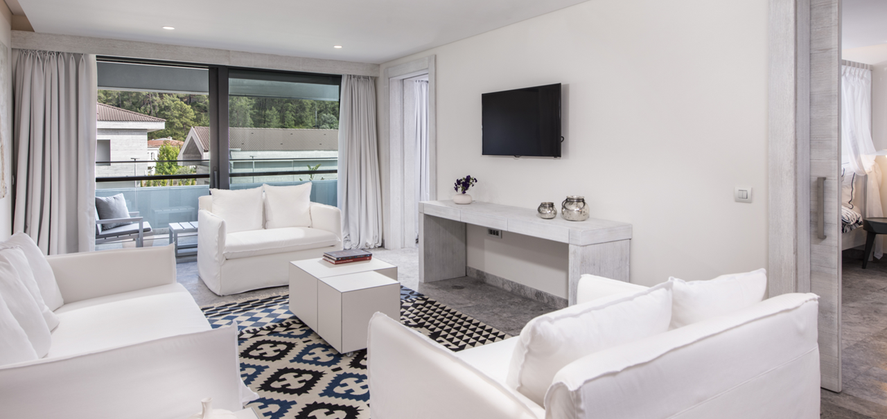 D Resort Gocek Premier Suite Balcony