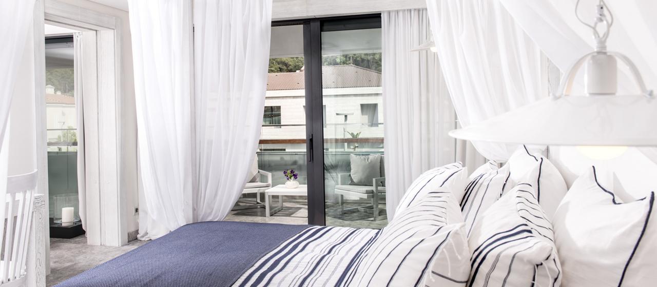 D Resort Gocek Premier Suite Bedroomy
