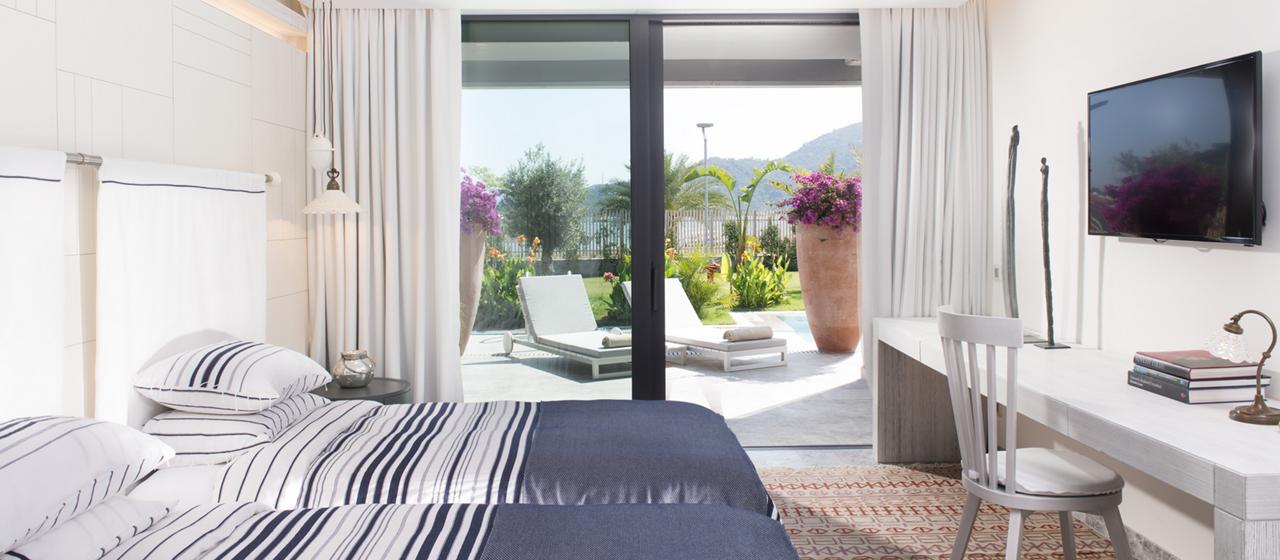 D Resort Gocek Presidential Suite Twin Bedroom