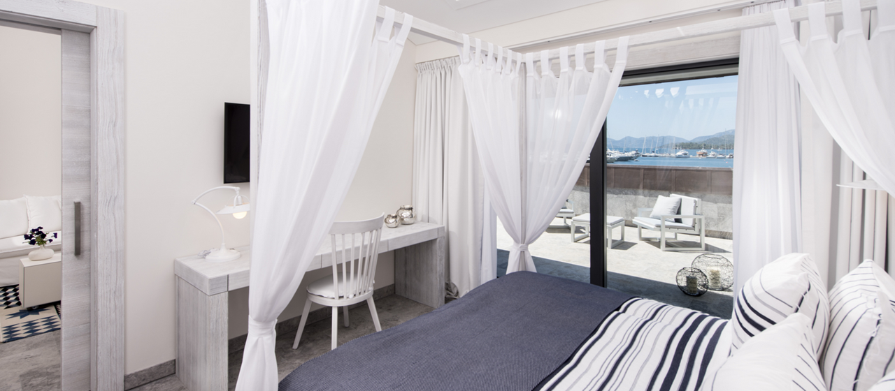 D Resort Gocek Superior Suite Sleeping Room