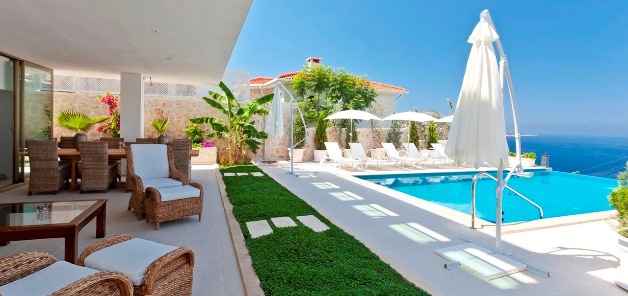 Poolside And Terrace