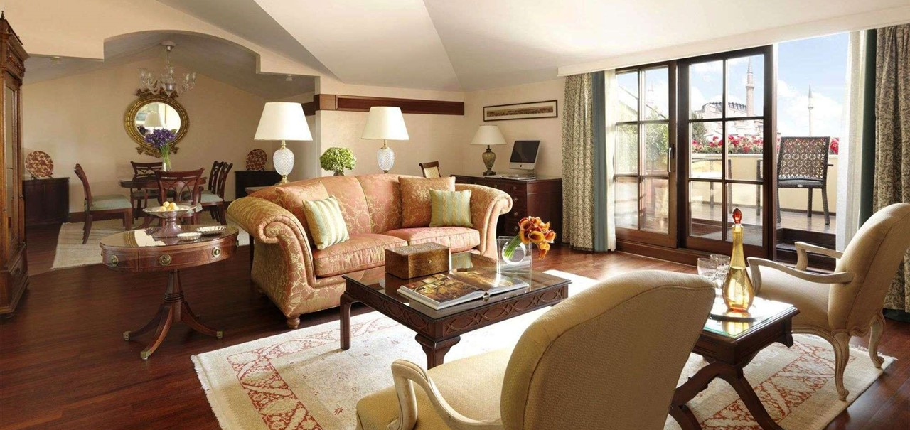 Four Seasons Hotel Istanbul At Sultanahmet Stylish Rooms