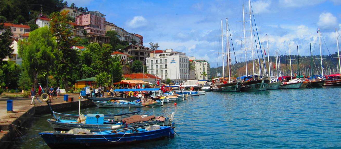 Carousel Fethiye Harbour