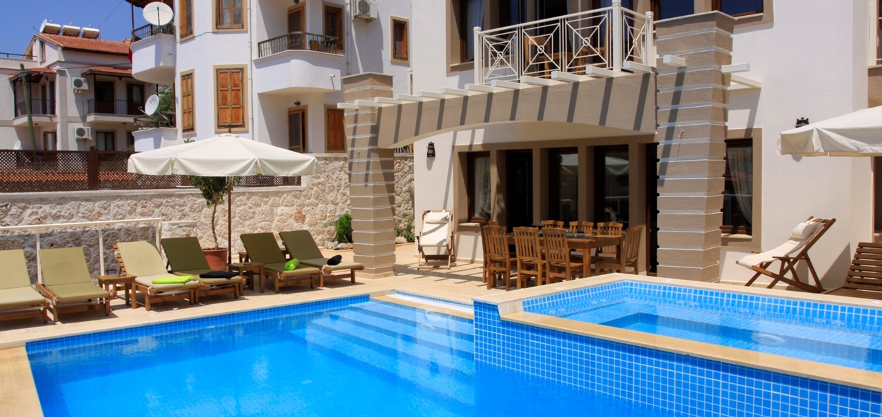 Kalkan Villa Sena with 5 bedrooms
