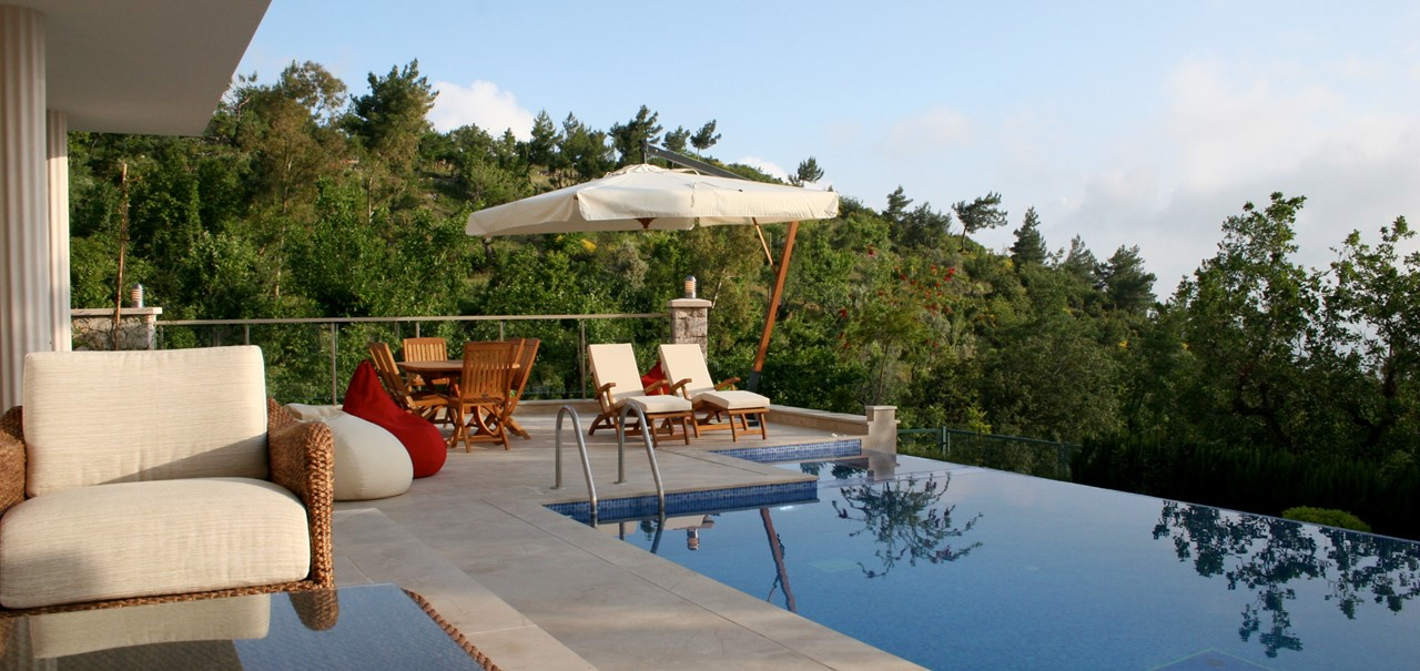 Luxury Kalkan Mountain Villa To Rent With Private Pool Outdoor Jacuzzi