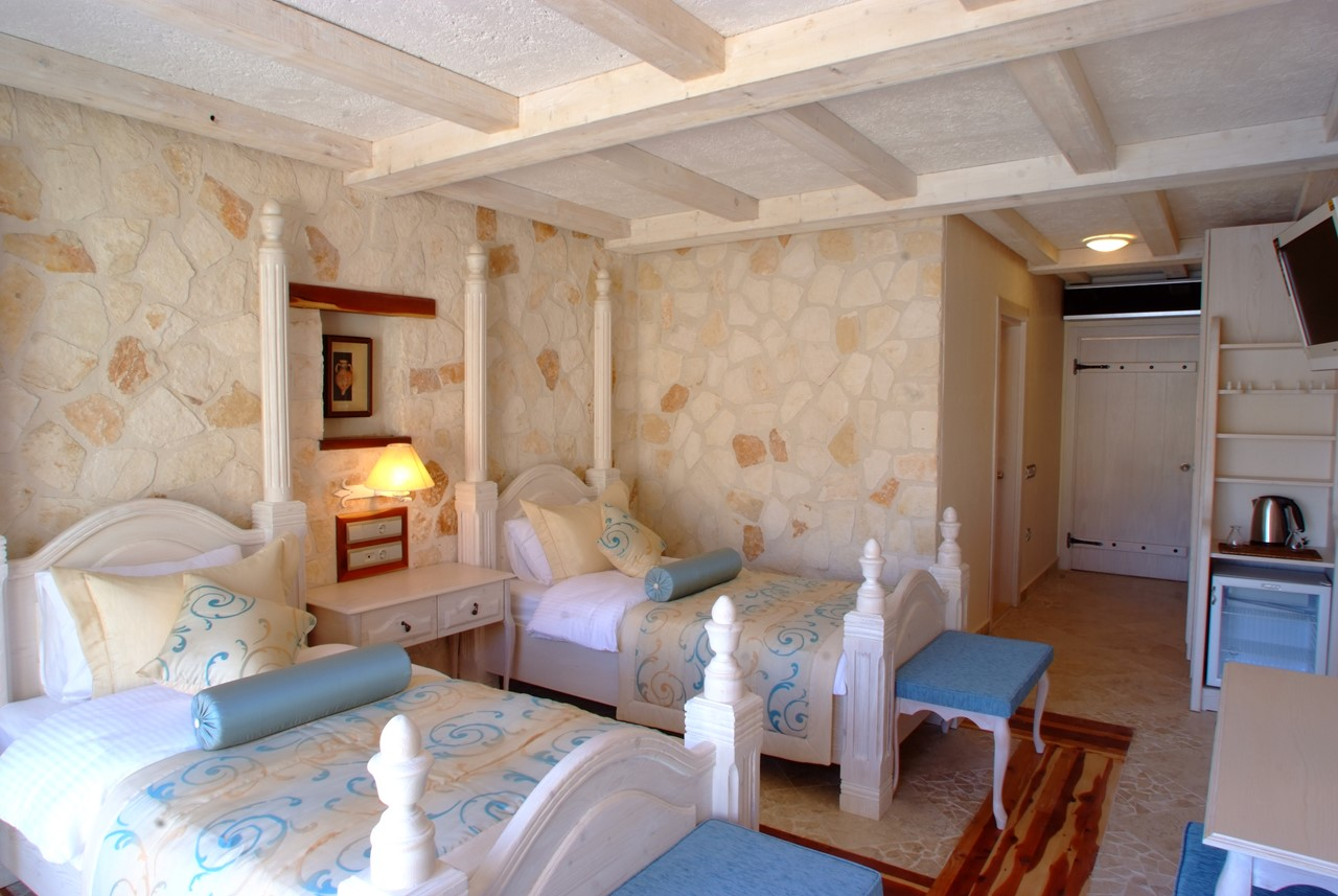 Twin Deluxe Suites available at The Likya Hotel