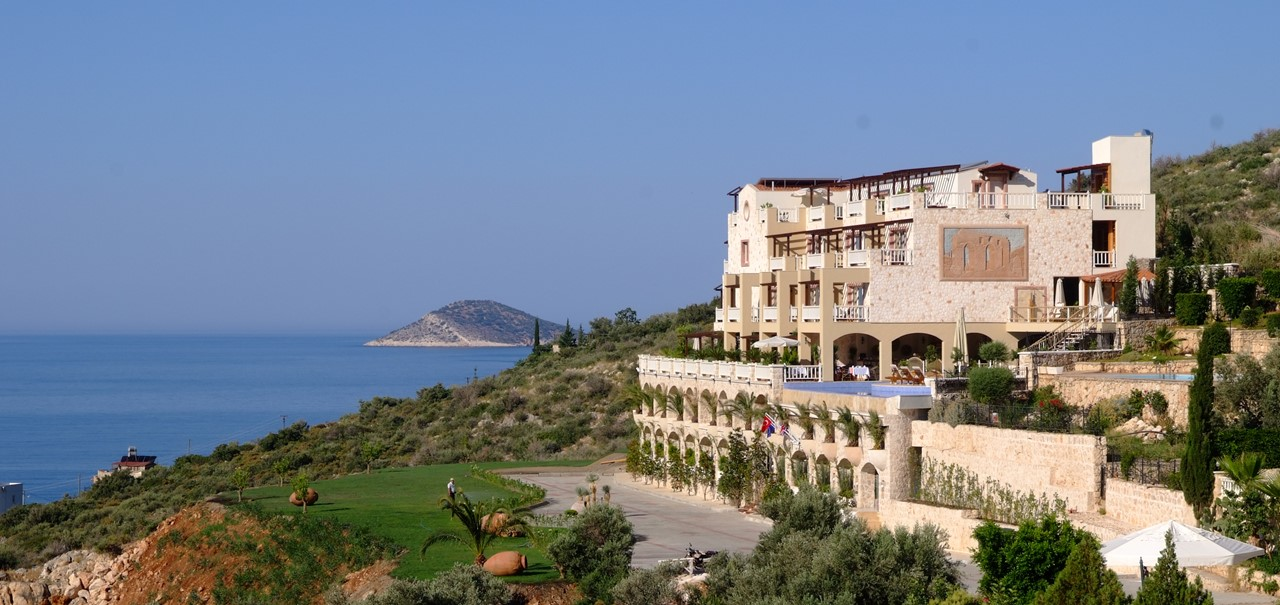 View of The Likya Hotel