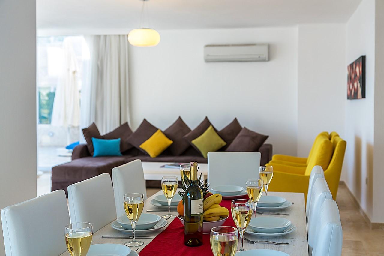 Living Area Open Plan