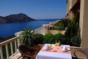 Enjoy fantastic sea views from your private balcony