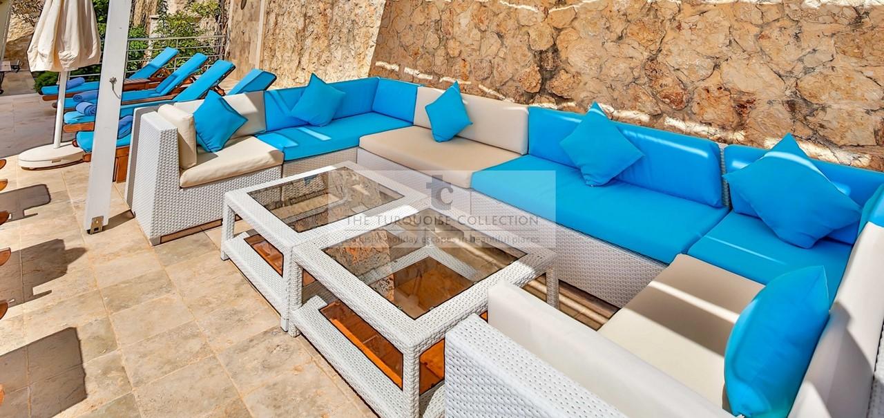 Seated Pergola Area