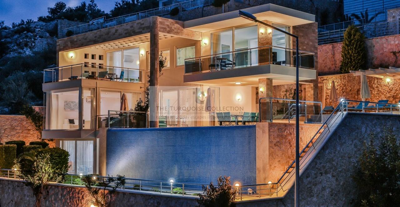 Villa Destiny In An Evening