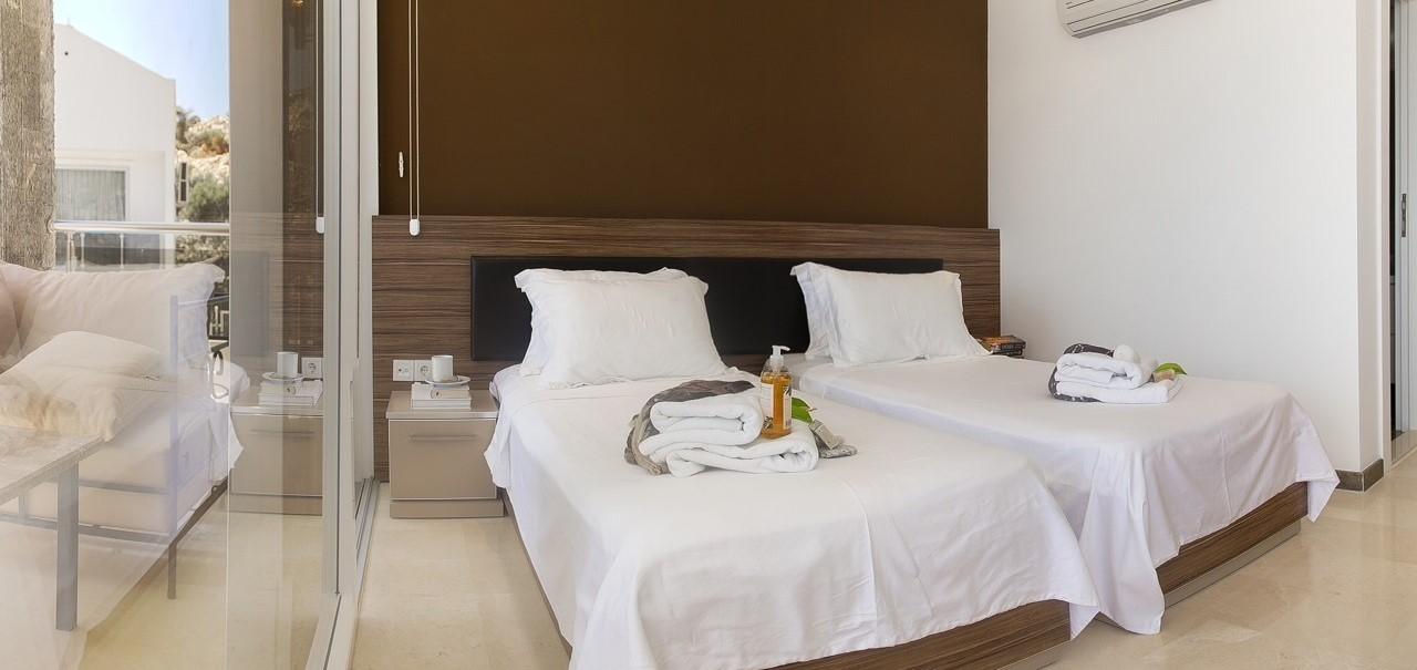 Villa ada 2 in kalkan with 5 bedrooms private pool for Ada bedroom