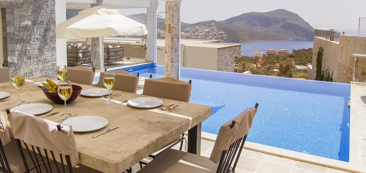 Dining Terrace Villa Ada2