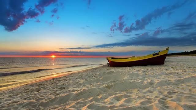 Enjoy beautiful sunsets at Beaches near Kalkan