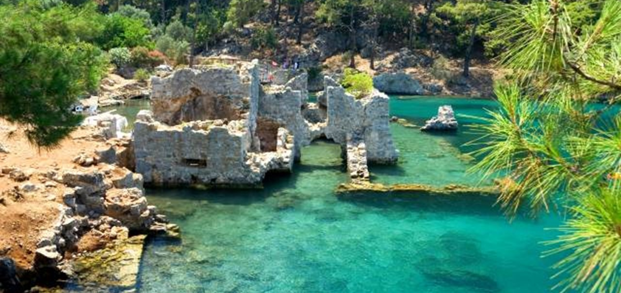 Historic sites around Kalkan