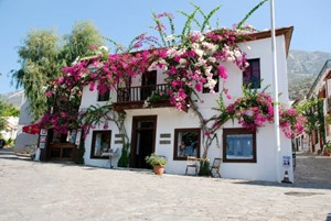 Kalkan's beautiful Old Town full of character