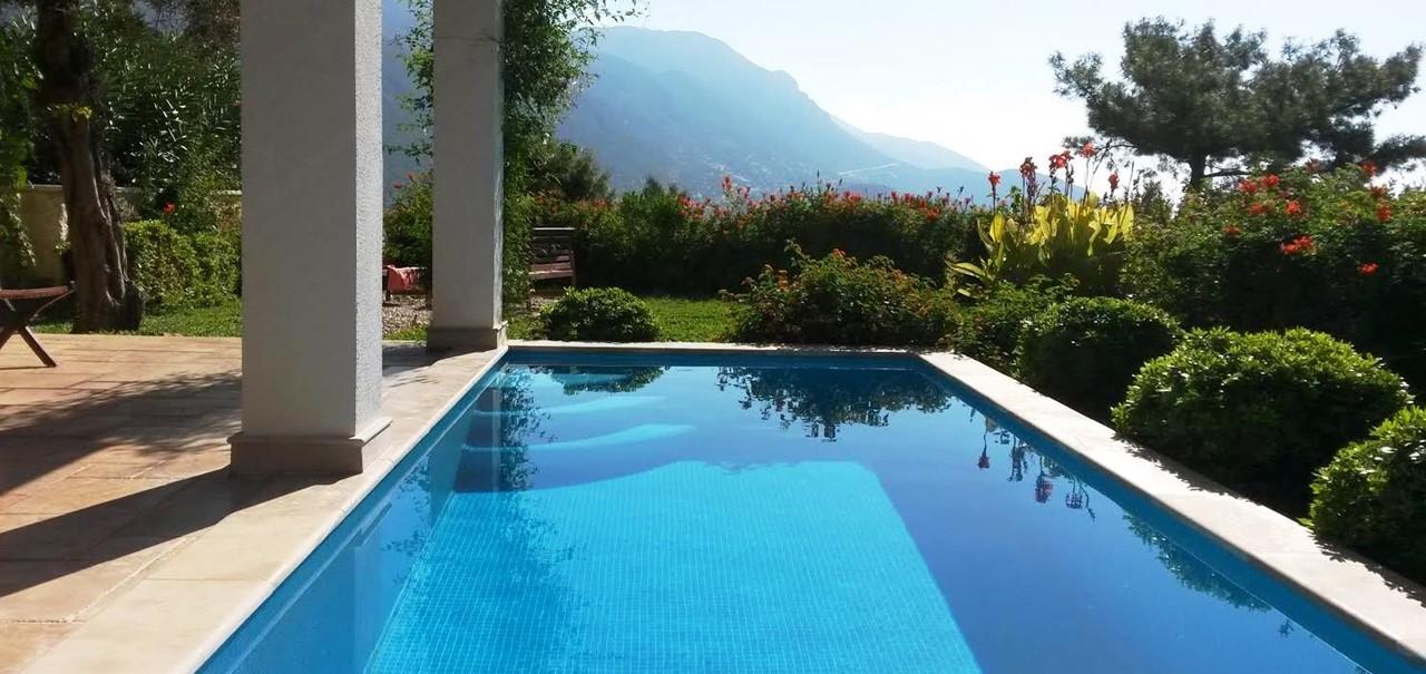 2 Bedroom Kalkan Apartment With Private Pool Sea Views