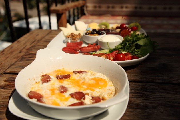 Try a traditional Turkish breakfast
