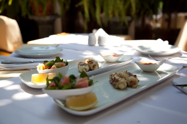 Enjoy fine dining in Kalkan