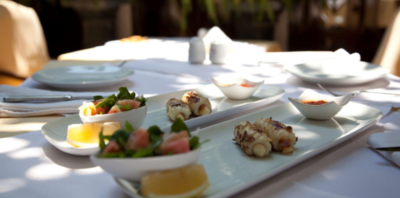 Enjoy fine dining in Kalkan