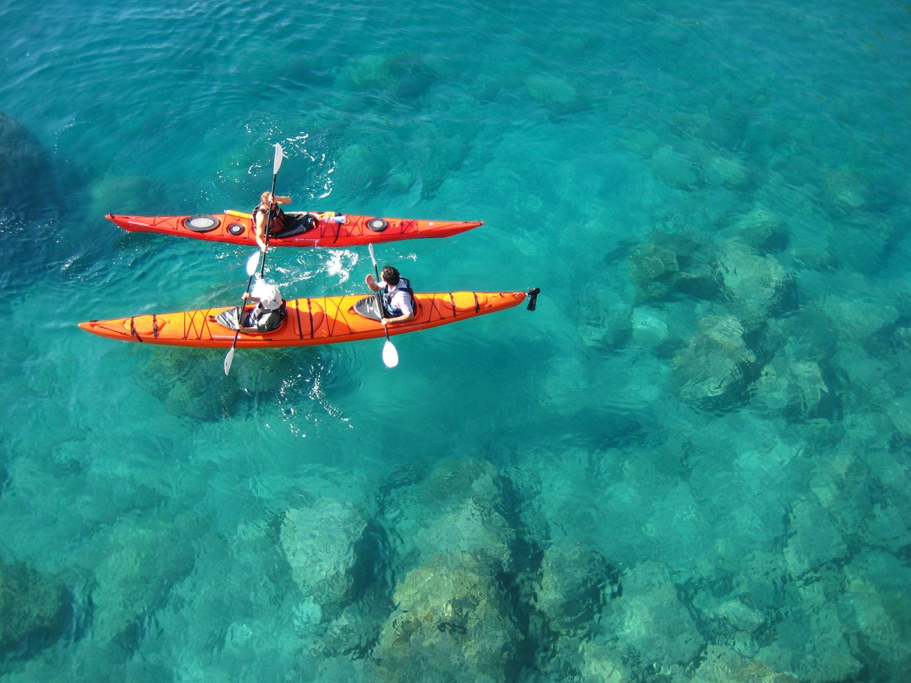 Sea Kayaking in Kalkan