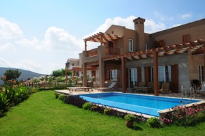 Villas with private pools