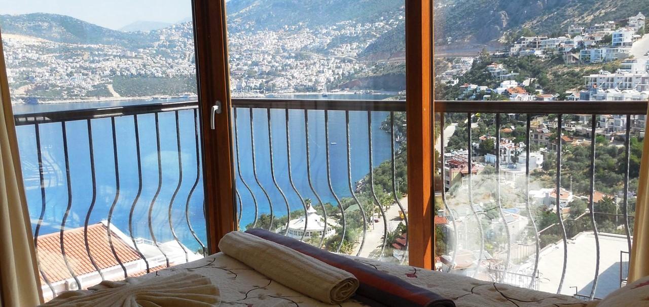 Villa In Kalkan Interior Bedroom