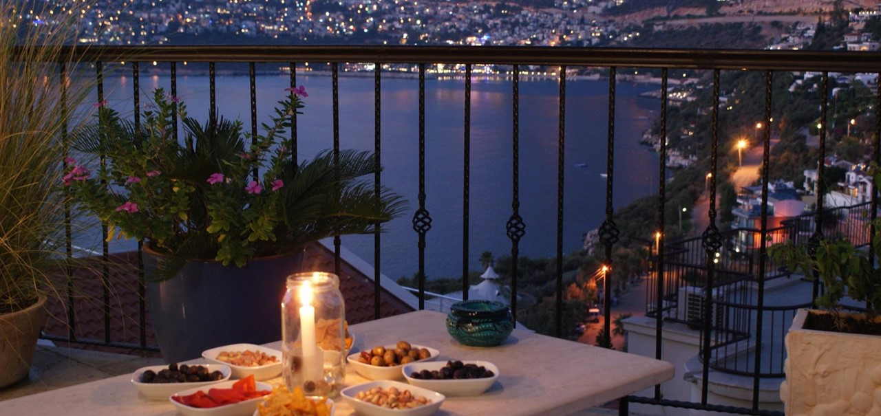 Villa Yar Kalkan Night Mezze Terrace