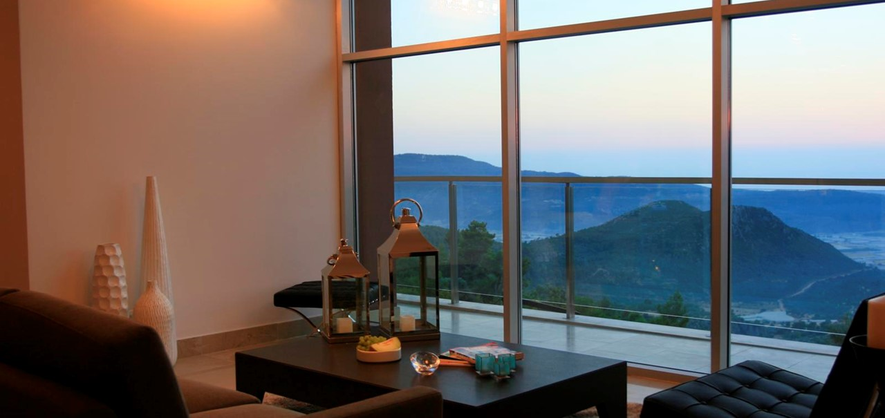 Exquisite Kalkan Mountain Villa To Rent With Private Pool