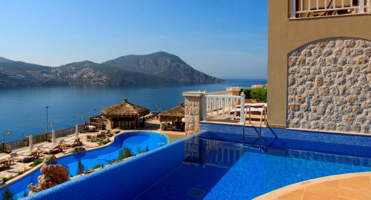 The Likya Residence Hotel and Spa in Kalkan