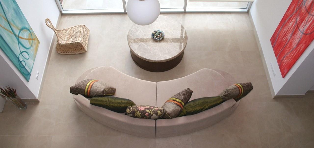 Modern interior furnishings and decor