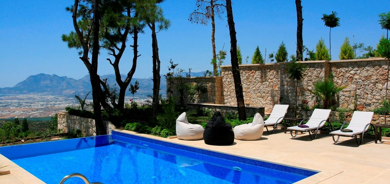 Luxury Kalkan Mountain Villa To Rent Private Pool Landscape Views