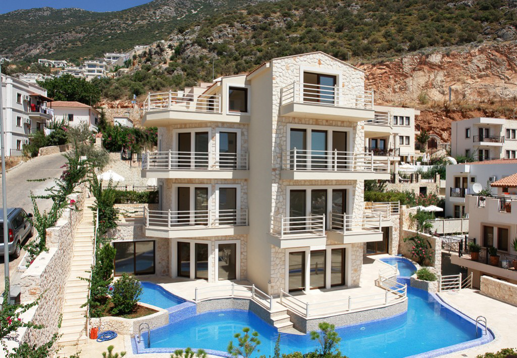 Kalkan Old town apartments, just 3 minutes walk from town