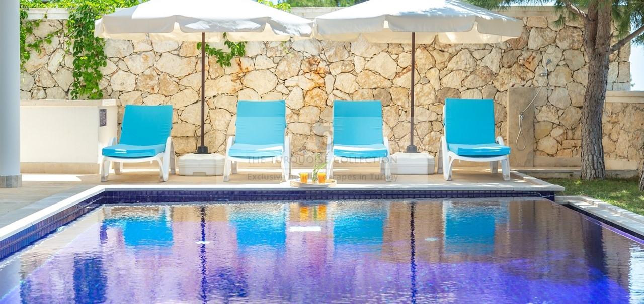 Kalkan Mountain Villas No 5 Kalkan Islamlar 32 Pool Copy