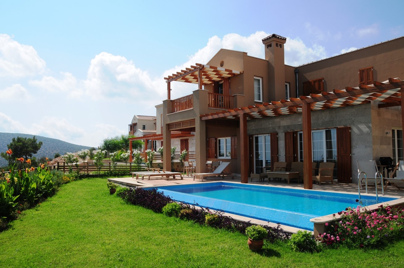 Beautiful villas on the lavanta resort