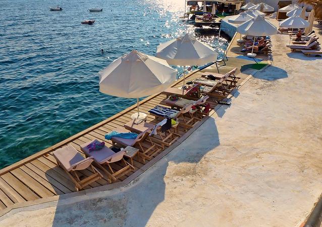 Indigo Beach Club & Restaurant, Kalkan, Turquía