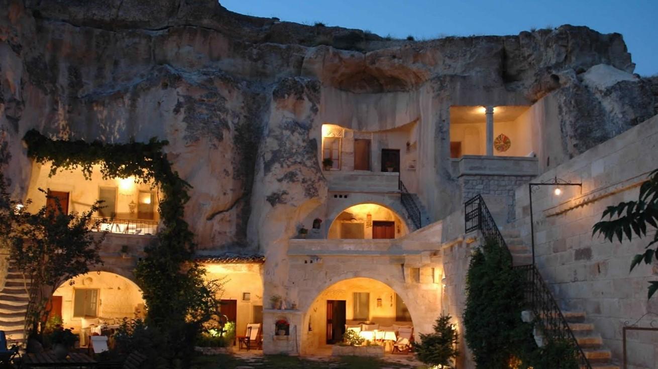 Turkish caves