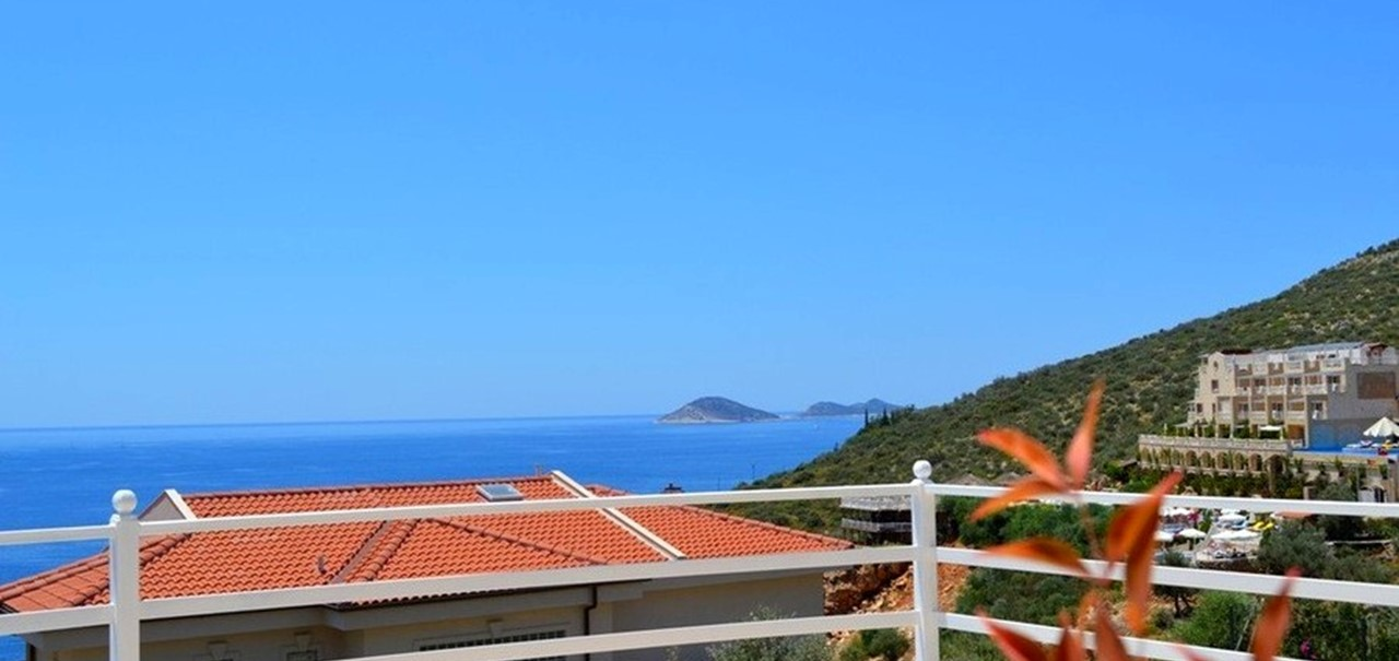 Sea views from Villa Safir